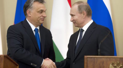 Orban hopes to benefit from Hungary's good ties with Putin