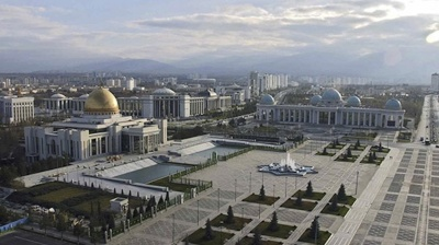 Turkmen President Gurbanguly Berdimuhamedov takes a holiday as WHO mission finally arrives in Ashgabat