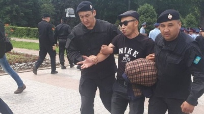 PROTESTS IN KAZAKHSTAN: New president faces another outbreak of pro-democracy, anti-China rallies