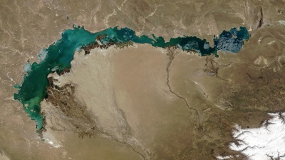 China's water use threatens Kazakhstan's other big lake