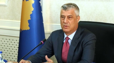 Kosovan president claims he is innocent after questioning in The Hague war crimes court