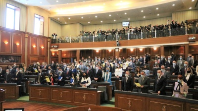 Kosovan parliament votes in new government led by Albin Kurti
