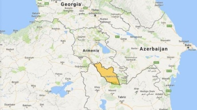 Azerbaijan's Aliyev calls on Armenia, Russia, Turkey and Iran to assist in creating Nakhchivan land corridor