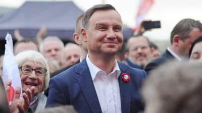 Poll shows very tight race in Poland's pivotal presidential vote
