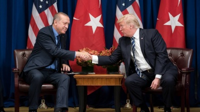 "Trump ""fist-bumped Erdogan"" saying Turkish strongman ""does things the right way"""