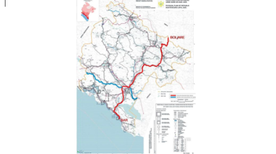 Montenegrin transport minister admits 10% hike in costs of Bar-Boljare motorway section