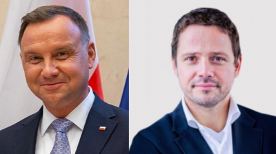 Duda and Trzaskowski re-launch campaigns ahead of final stage of crucial presidential contest