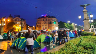 "Bulgaria's ""Poisonous Trio"" calls for halt to protests to stop spread of COVID-19"