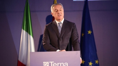 Montenegro launches undersea power link to Italy