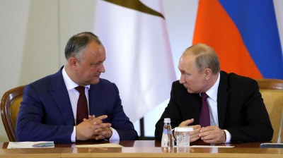 Moldova's President Dodon wants Russian-style rewrite of constitution
