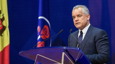 Moldovan oligarch Vlad Plahotniuc resigns as head of Democratic Party
