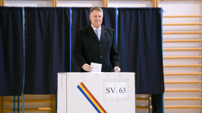 Romania's President Iohannis wins another term