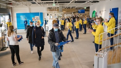 Ikea opens first store in Slovenia with low key, socially distanced launch