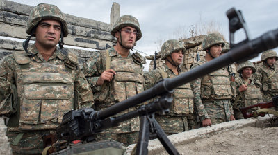 COMMENT: Armenia is surrounded by enemies. It needs Russia for practical survival