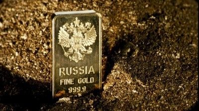 Russia's central bank bought a record amount of gold in 2018