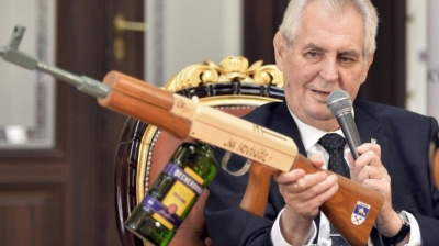 Czech President Zeman accuses Ukraine of being run by oligarchs