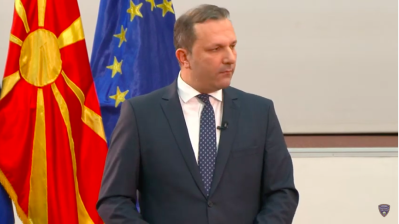 North Macedonia's ex-secret police chief shows up after search drama