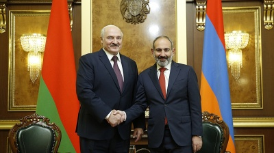 CAUCASUS BLOG: Dismay as Armenia's colour revolution PM Pashinian congratulates Lukashenko