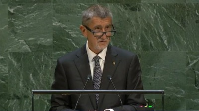 Czech PM Babis criticized Greta Thunberg for being hysterical at UN