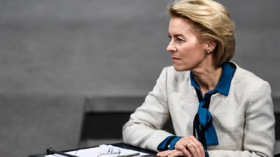 Von der Leyen tells Poland and Hungary to contest rule of law link to EU money in court
