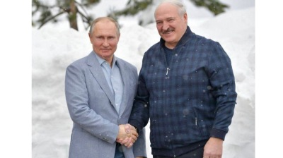Putin, Lukashenko meet for six hours of intensive talks in Sochi