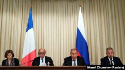 France calls for reset in relations with Russia