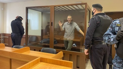 Navalny loses two appeals and starts 2.8-year prison sentence