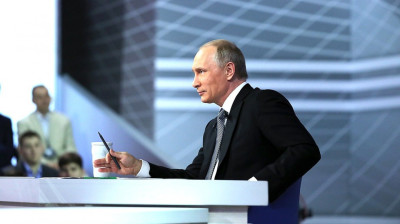 MOSCOW BLOG: Putin promises to take out the garbage in his annual phone-in