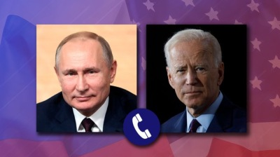 Russian President Vladimir Putin and US President Joe Biden have first phone call, extend START II treaty for five years