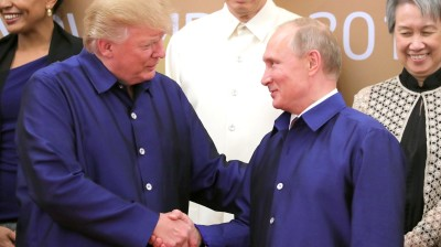 US President Donald Trump says again he intends to invite Russia's Vladimir Putin to the G7 summit this autumn