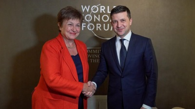IMF in talks to increase its assistance to Ukraine to $9.5bn