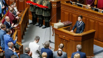 Ukraine constitutional crisis snowballs as parliament challenges president's announcement of snap elections