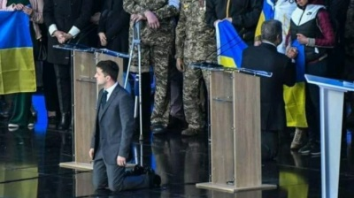 New Ukraine president under fire for proposal of referendum on peace with Russia