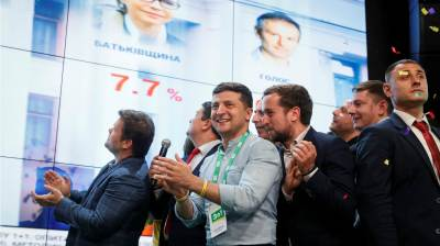 KYIV BLOG: Zelenskiy's party won control of parliament, but now he has to control his party