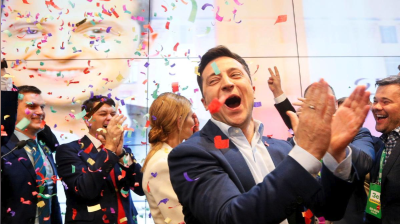 KYIV BLOG: Zelenskiy's honeymoon is over as his first year in office comes to an end
