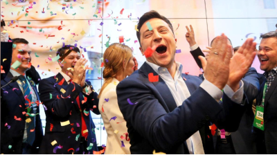 Ukrainian President Zelenskiy would win a presidential election tomorrow, but his SOTP would come in third