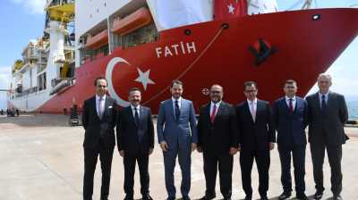Turkey meets EU Cyprus gas drilling sanctions with 'fourth ship' announcement