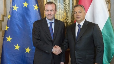 European People's Party group leader Weber proposes talks with Orban