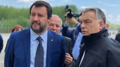Orban and Salvini united against migration at Budapest meeting