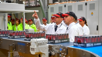 Hell Energy adds new production line to keep up with robust demand