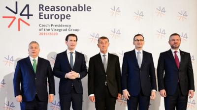Visegrad leaders stand united at Prague summit