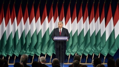 Hungarian PM warns of storm clouds ahead in state of the nation speech