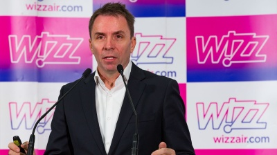 Wizz Air operating at 15% capacity