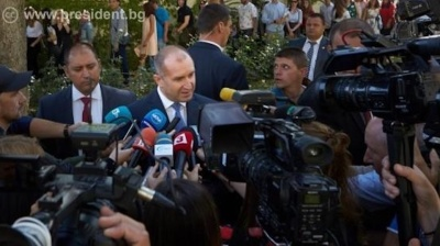Freedom of speech is in crisis in Bulgaria, President Radev says
