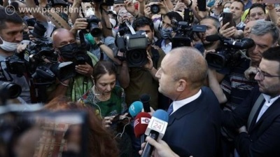 Bulgarian President Radev backs anti-government protesters