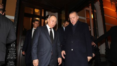 Erdogan, Putin agree Syria truce