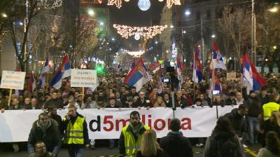 Anti-Vucic protests expand across Serbia, northern Kosovo