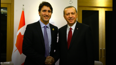 ISTANBUL BLOG: Erdogan, Trudeau and the killer drones