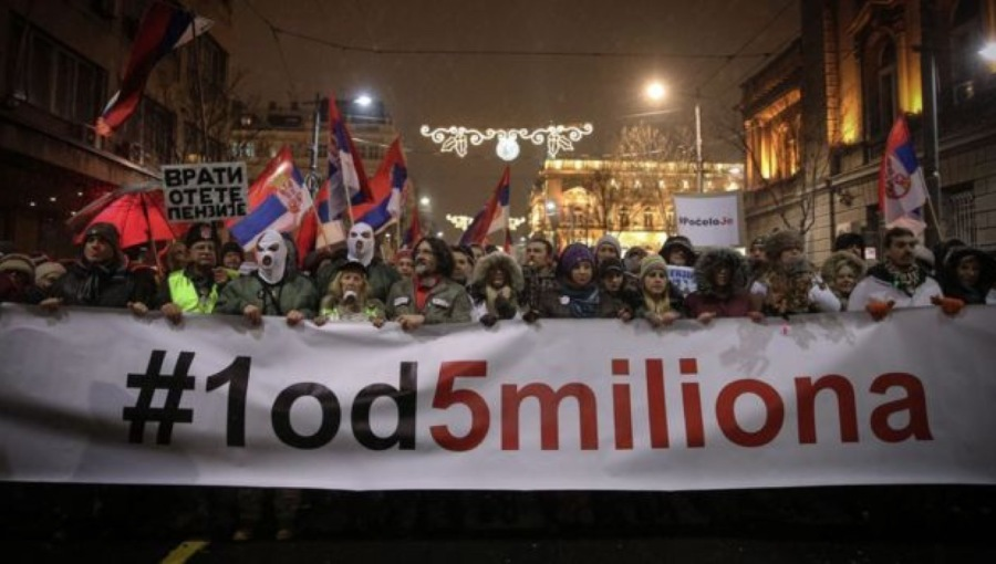 bne IntelliNews - BALKAN BLOG: Protests with staying power