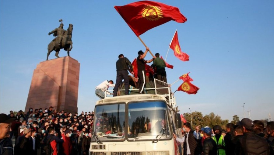 bne IntelliNews - Opposition groups in Kyrgyzstan say they've seized power